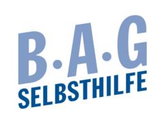 Bild zeigt das Logo der BAG Selbsthilfe