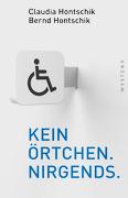 Bild zeigt das Cover des Buches (weißer Hintergrund mit Rollstuhlsymbol und Buchtitel)