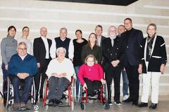 Bild zeigt die Teilnehmer der Arbeitsgruppe